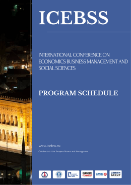 ıcebss program schedule