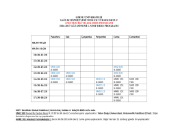 08:30-09:20 09:30-10:20 10:30-11:20 11:30-12:20 12:30