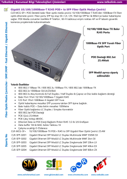 Gigabit 10/100/1000Base-T RJ45 POE+ to SFP Fiber