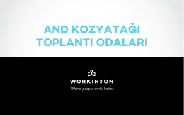 Kozyatağı - Workinton