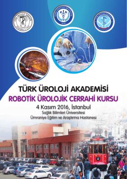robotik ürolojik cerrahi kursu