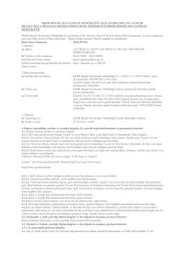 DHMİ Bingöl Havalimanı Müdürlüğü Sıvılaştırılmış LNG Alımı (2799)