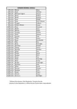 24.03.2012 Yönetim Kurulu Toplantısı EK 3