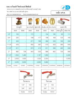 Price List(1)