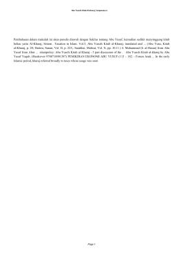 Abu Yusufs Kitab Al-kharaj PDF