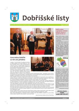 říjen 2016 - Dobříšské listy