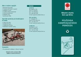 půjčovna kompenzačních pomůcek - Oblastní charita Ústí nad Orlicí