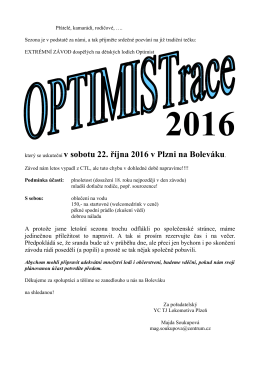 Optimist Race