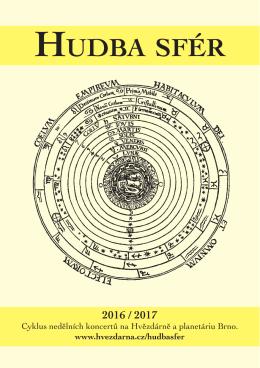 Katalog Hudby sfér ke stažení - Hvězdárna a planetárium Brno