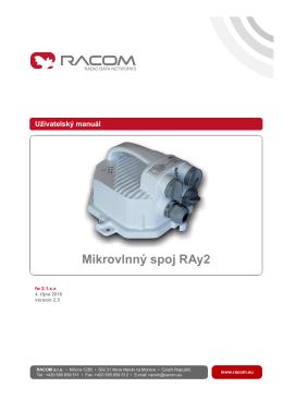 Mikrovlnný spoj RAy2
