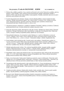 Plan prednasek 2016 - 17