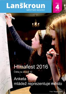 Hlínafest 2016 - MAS Lanškrounsko