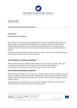 SIALANAR, glycopyrronium - European Medicines Agency