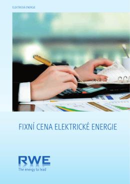 fixní cena elektrické energie