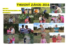TYKVOVÝ ZÁVOD 2016