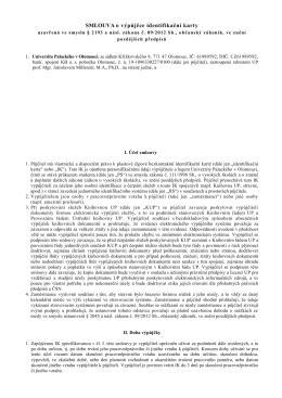 smlouva o výpůjčce pro zaměstnance v českém jazyce