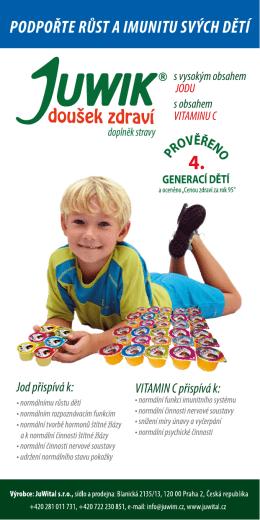 podpořte růst a imunitu svých dětí