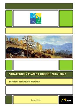 Strategie 2016-2022 - Sdružení obcí povodí Morávky