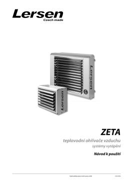 teplovodní ohřívače vzduchu