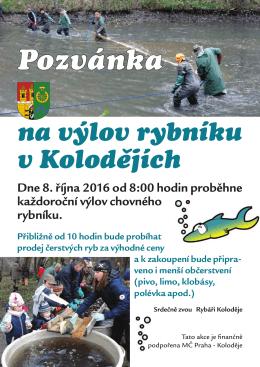 Pozvánku najdete ZDE - Praha