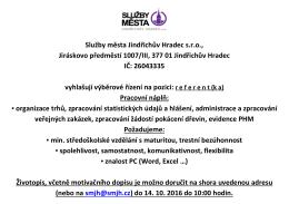 ZDE. - Služby města Jindřichův Hradec