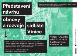 Představení návrhu obnovy a rozvoje sídliště Vinice - UMO 1