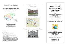 Informace a kontakty - Mateřská škola, základní škola a střední škola
