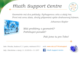 math support centre