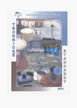 Technické standardy vodárenské infrastruktury 2016