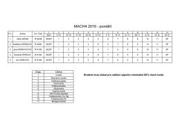 MACH4 2016
