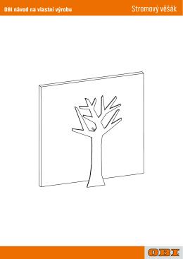 Stromový věšák