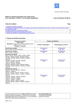 """""""TE-ML 01"""" sur la plaque signalétique Liste de l - ZF CI"""