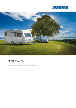 PDF-Download - ERIBA Caravans