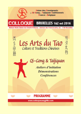 programme + fiche d`inscription
