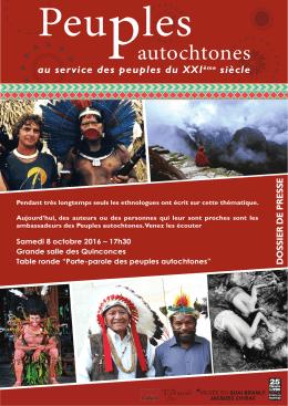 Peuples autochtones - Le Mans