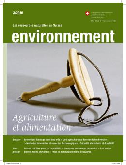 Agriculture et alimentation - Bundespublikationen für Privatkunden
