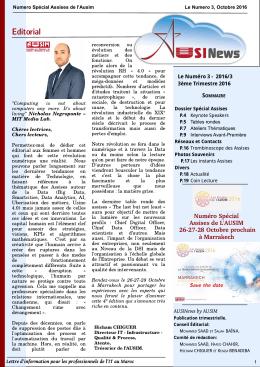 Editorial - AUSIM MAROC