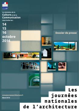 DP JNarchi 16 pdf - Ministère de la Culture et de la Communication