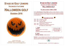 halloween golf - Jiva Hill Golf Club