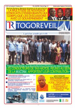 Togo Réveil N°237 - République Togolaise