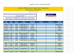 Horaire PDF - Ringuette St
