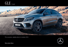 GLE Coupé Prix-courants: valables dès le 6 - Mercedes-Benz
