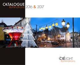 Téléchargez notre catalogue Cré-Light - illumination 2016