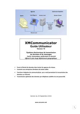 XMCommunicator - Solutions de communications sécurisées