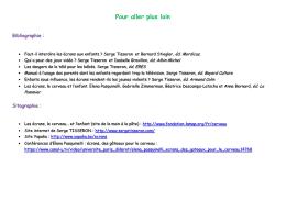 Bibliographie sitographie flyer - Académie de Nancy-Metz