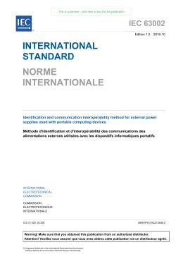 international standard norme internationale