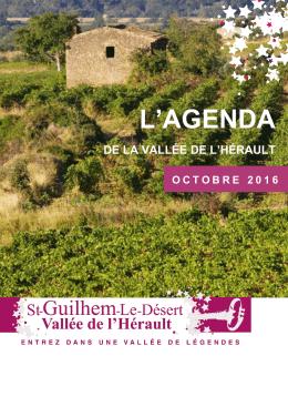 l`agenda - Office de tourisme de Saint-Guilhem-le-Désert