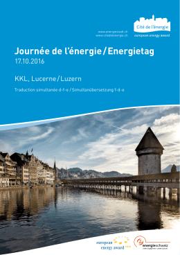 Programme - Cité de l`énergie