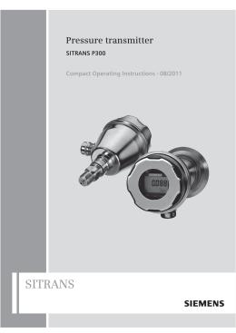 sitrans p300