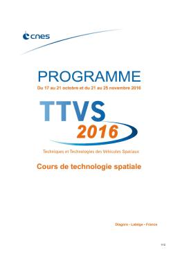Le programme - CNES